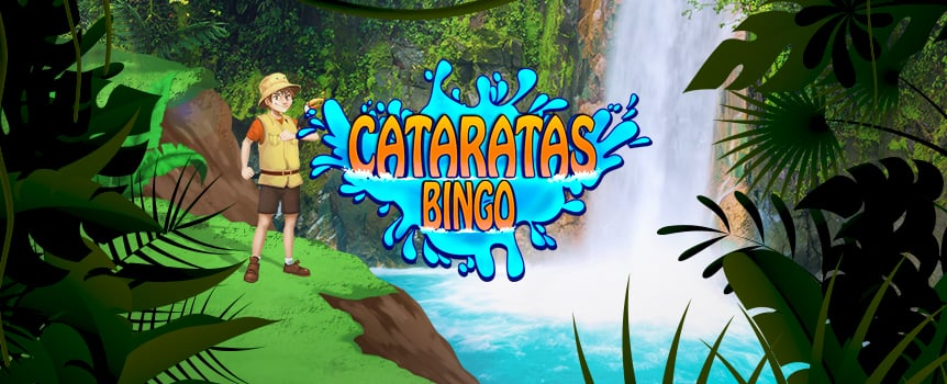 Bingo Cataratas is played by placing a bet and selecting up to 4 bingo cards to play with, then 31 random balls will be released. Each card contains 15 numbers, if the randomly drawn numbers complete a winning pattern in any card, you will be a winner.
