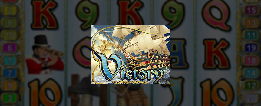 Ahoy! Take a sail on the high seas with the HMS Victory. Line up Flags, Cannons, Bells and more to capture the booty. A compass, a map and a sturdy pair of sea legs will guide you to a sure win!