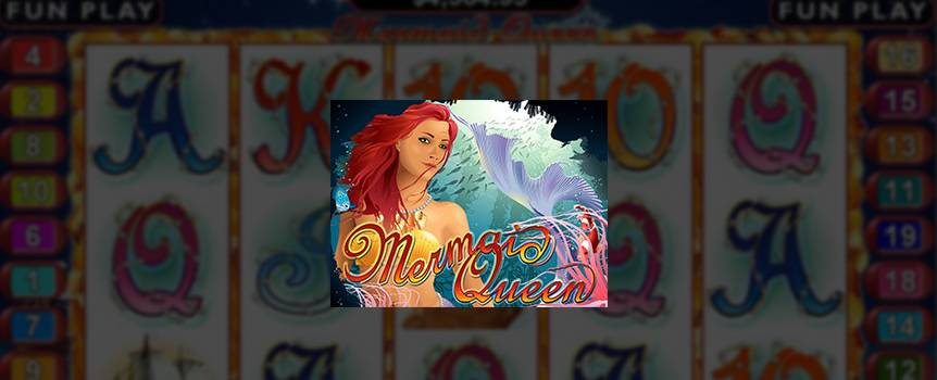 Deep under the sea, the mystical mermaids have collected a vast treasure for their mermaid queen. The benevolent queen will reward you handsomely and let you gain both her favor and treasures for yourself.